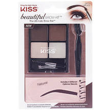 Kiss Ever EZ Beautiful Brow Kit Natural