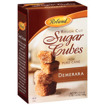 Roland Demerara Rough Cut Sugar Cubes