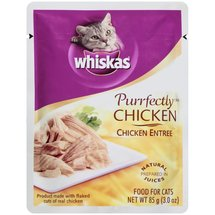 Whiskas: Purrfectly Chicken Entree Cat Food