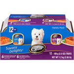 Cesar Savory Delights Canned Dog Food Variety Pack