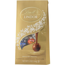 Lindt Assorted Milk Dark And White Lindor Truffles With A Smooth Filling