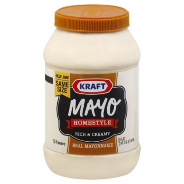 Kraft Mayo Homestyle Mayonnaise