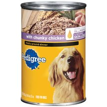 Pedigree Meaty Ground Dinner w/Chunky Chicken Dog Food