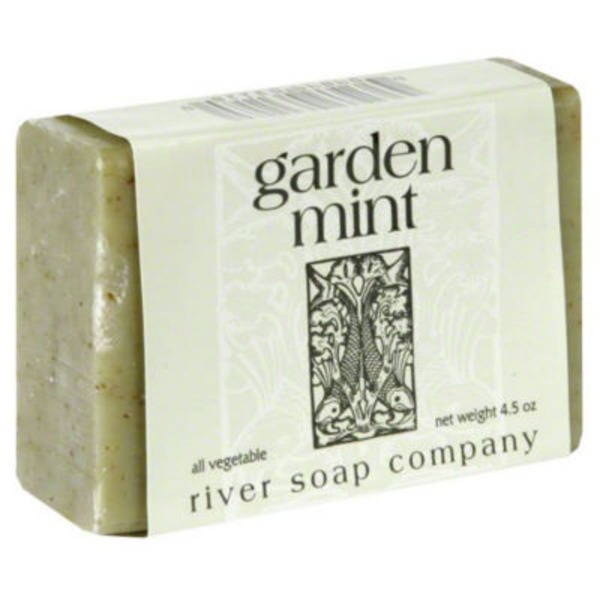 River Soap Company Garden Mint Bar Soap
