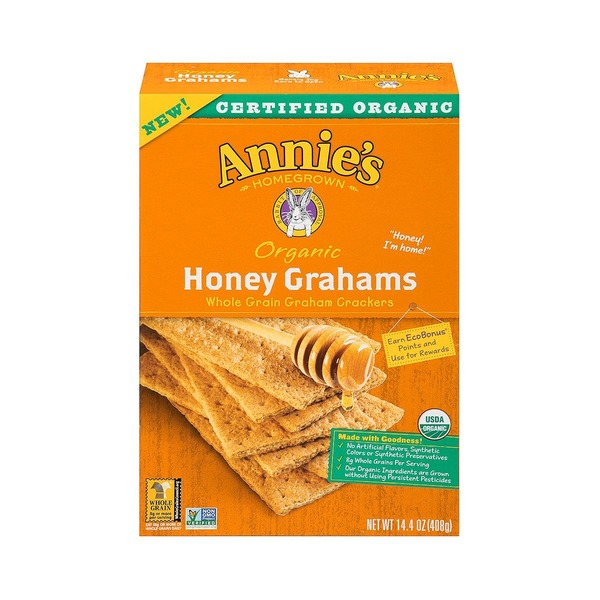 Annie's Homegrown Organic Honey Grahams
