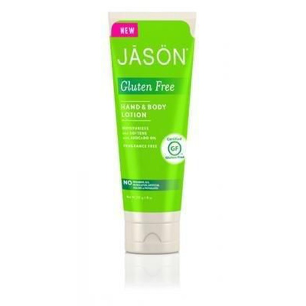 Jason Hand And Body Lotion Fragrance Free Gluten Free