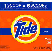 Ultra Tide Original Powder Laundry Detergent