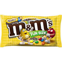 M&M's Fun Size Peanut Chocolate Candies