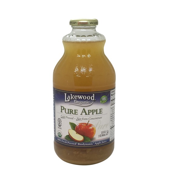 Lakewood Organic Organic Pure Apple Juice