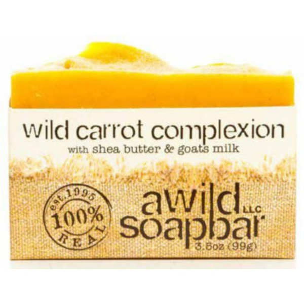 A Wild Soap Bar Wild Carrot Complexion Bar Soap