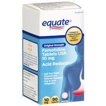 Equate Original Strength/Famotidine Tablets 10Mg/Acid Reducer Acid Controller