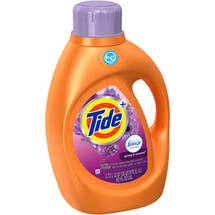 Tide with Febreze Freshness High Efficiency Spring & Renewal Liquid Laundry Detergent