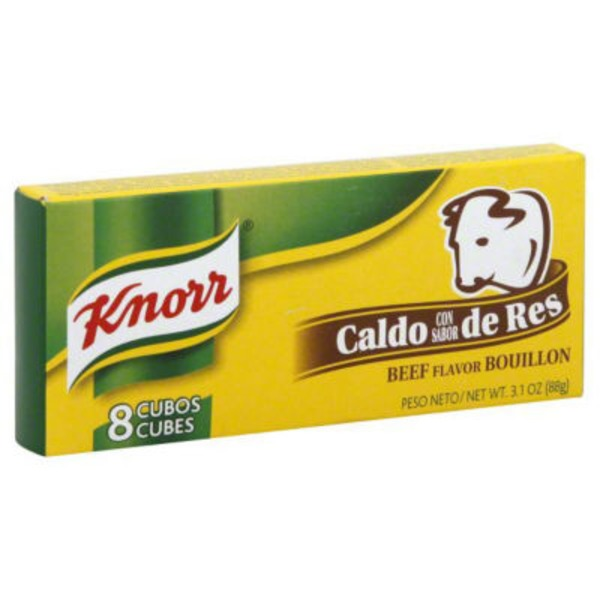 Knorr Beef Cube Bouillon