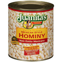 Juanitas Mexican Style Hominy #10