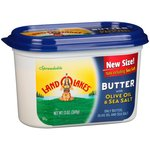 Land O Lakes Spreadable Butter with Olive Oil & Sea Salt