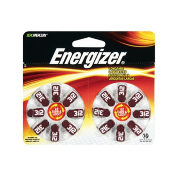 Energizer AZ Lock & Turn AZ312DP-16 Batteries