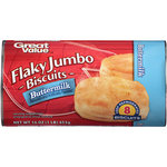 Great Value Buttermilk Flaky Jumbo Biscuits