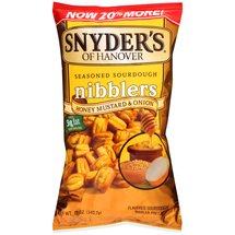 Snyder's of Hanover Honey Mustard Onion Sourdough Nibblers Pretzels