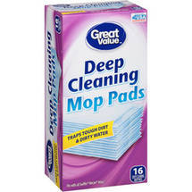 Great Value Deep Cleaning Mop Pad
