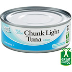 Great Value Light Tuna Chunk In Water