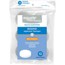 Equate Beauty Round Applicator Sponges