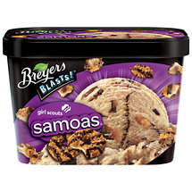 Breyers Blasts! Samoas Ice Cream