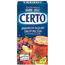 Kraft Baking & Canning Certo Fruit Pe ctin Premium Liquid 2 Pouches