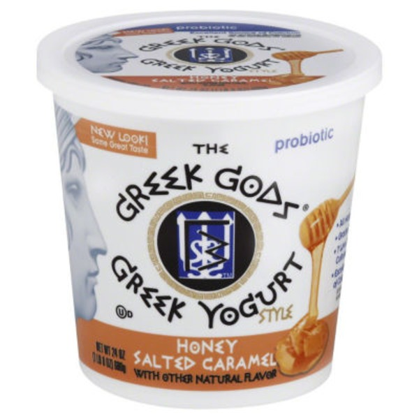 The Greek Gods Greek Yogurt Style Honey Salted Caramel