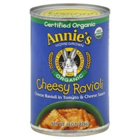 Annie's Homegrown Cheesy Ravioli Organic Canned Meals