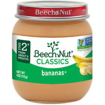 Beech Nut Chiquita Bananas Stage 2 Baby Food