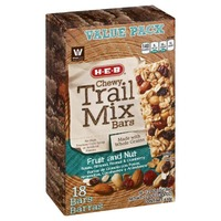 H-E-B Chewy Trail Mix Bars