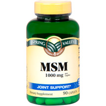 Spring Valley MSM Supplement 1000 mg