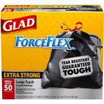 Glad ForceFlex Extra Strong Drawstring Large Trash Bags