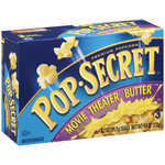 Pop Secret Movie Theater Butter Premium Popcorn