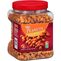 Great Value Honey Roasted Peanuts