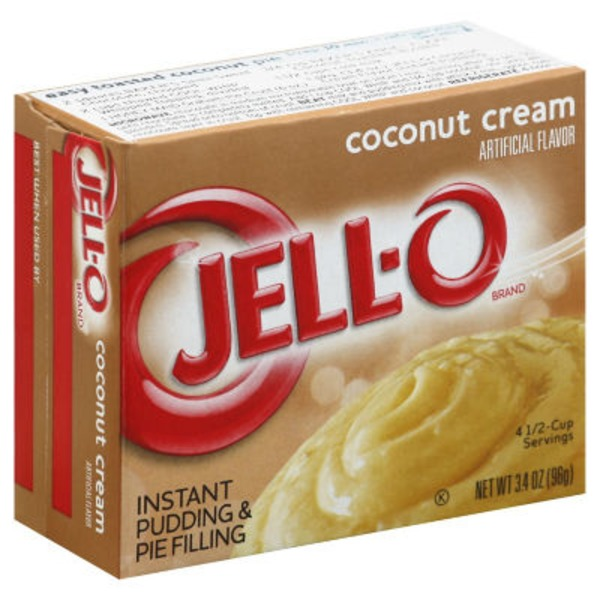 Jell-O Instant Coconut Cream Pudding & Pie Filling