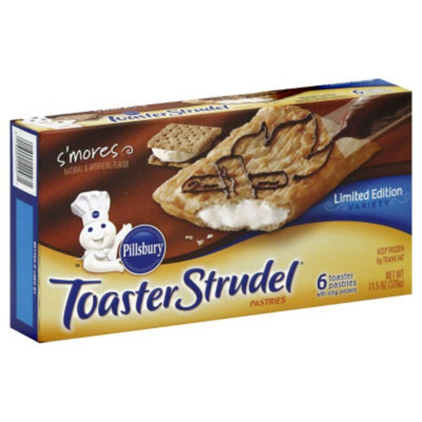 Pillsbury Toaster Strudel S'mores Limited Edition Toaster Pastries
