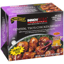 InnovAsian  Cuisine General Tso's Chicken Breast Family Size Frozen Entre