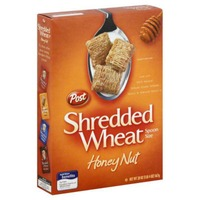 Post Shredded Wheat Spoon Size Honey Nut Cereal