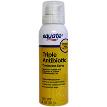 Equate Triple Antibiotic Ointment Continuous Spray