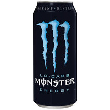 Monster Energy Low Carb Energy Drink 16 Fl Oz