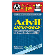 Advil Liqui-Gels Ibuprofen Liquid Filled Capsules
