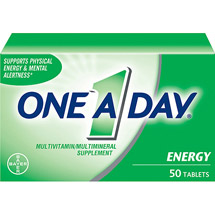 One A Day Multivitamin/Multimineral Supplement All-Day Energy