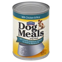 Hill Country Fare Dog Meals  With Chicken And Rice Pulp Free Dog Food