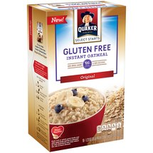 Quaker Select Starts Gluten Free Original Instant Oatmeal