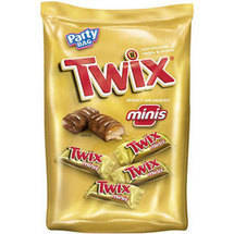 Twix Minis Cookie Bar Candies
