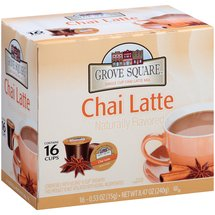 Grove Square Chai Latte Single-Serve Cups
