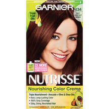 Garnier Nutrisse 434 Deep Chestnut Brown Hair Color