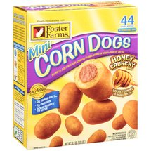 Foster Farms Honey Crunchy Flavor Mini Corn Dogs