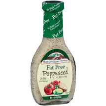 Maple Grove Farms Fat Free Poppyseed Dressing 8 Fl Oz